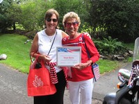 2010 - Mayor Deb Kind & July 4th Parade Grand Marshal Susan Morris