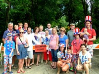 2010 - Hoff Family at the Greenwood July 4th Parade