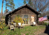 2016 Greenwood's Polling Place, Old Log Theatre's Cabin