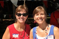 2011 Mayor Deb Kind & Parade Organizer Kristi Conrad